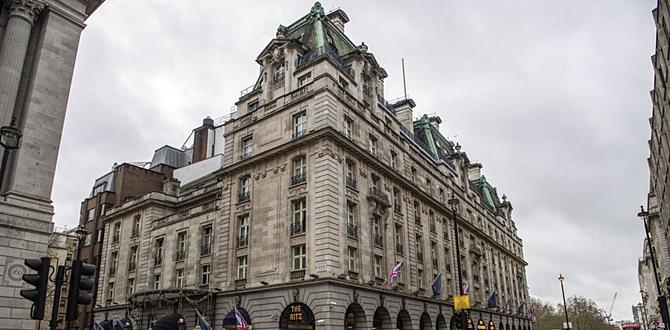 Dünyaca ünlü The Ritz Oteli