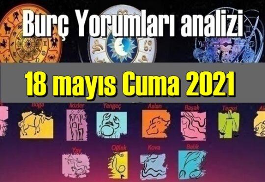 Bugün 18 mayıs Cuma 2021/ Günlük Burç Yorumları analizi