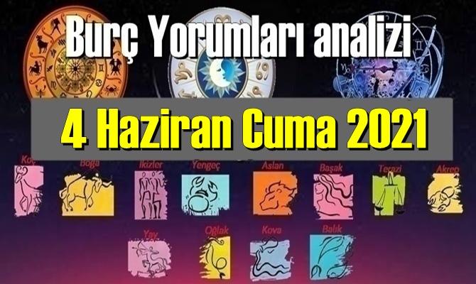 4 Haziran Cuma 2021/ Günlük Burç Yorumları analizi