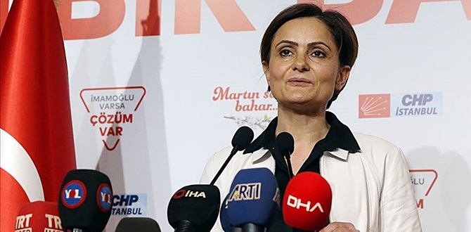 İstanbul İl Başkanı Kaftancıoğlu