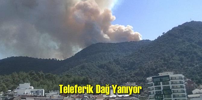 Teleferik Dağında Yangın