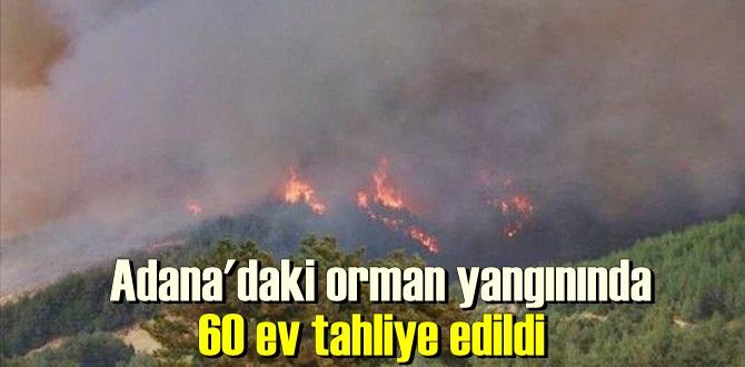 60 ev tahliye edildi