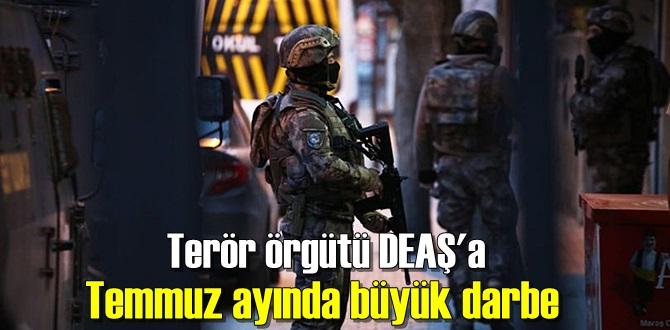 Terör örgütü DEAŞ'a karşı mücadele
