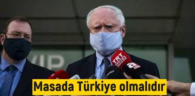 meselesinin çözümünde Türkiye masada olmalı