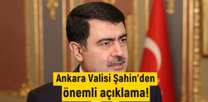 Ankara Valisi Şahin