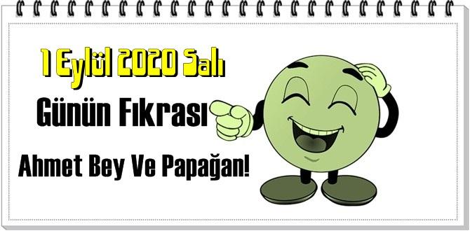 Komik Fıkrası – Ahmet Bey Ve Papağan!