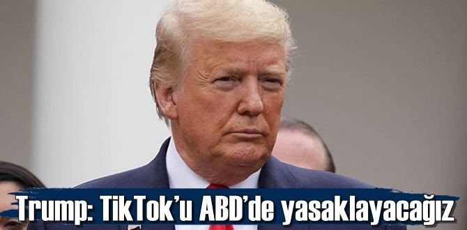 TikTok'u ABD'de yasaklayacağız