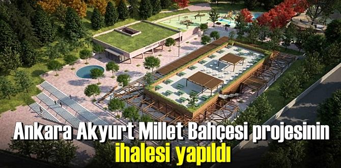 Ankara Akyurt Millet Bahçesi görselleri