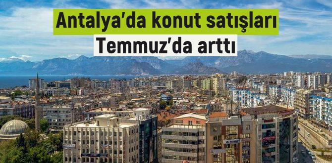 Antalya'da 4 bin 698 adet konut satılmıştı