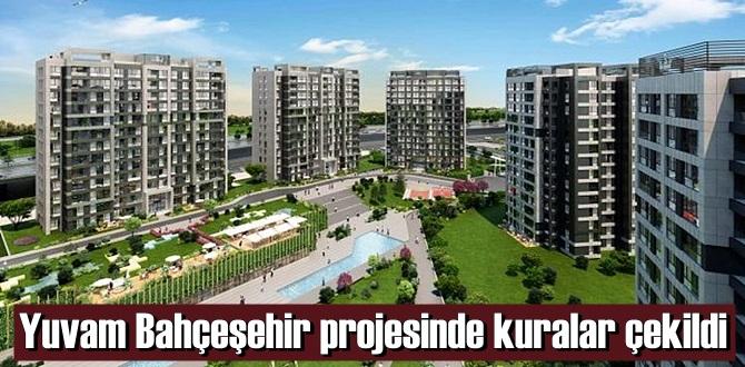 Yuvam Bahçeşehir projesinde kura heyecanı yaşandı