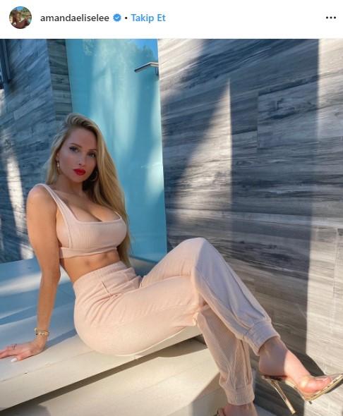 Fitness modeli Amanda Lee