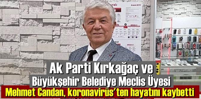 Mehmet Candan'ın vefat haberi