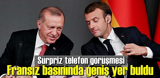 Erdoğan-Macron görüşmesi