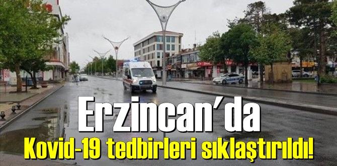 Erzincan'da yeni tip koronavirüs