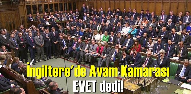 Avam Kamarası EVET dedi!