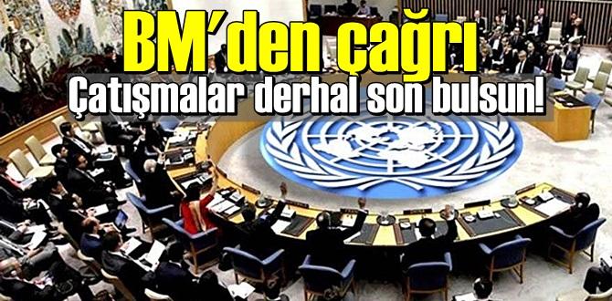 Birleşmişmilletler çağrıda bulundu