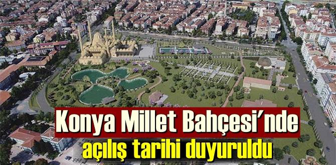 Konya'ya yakışır bir alanı inşa ediyoruz