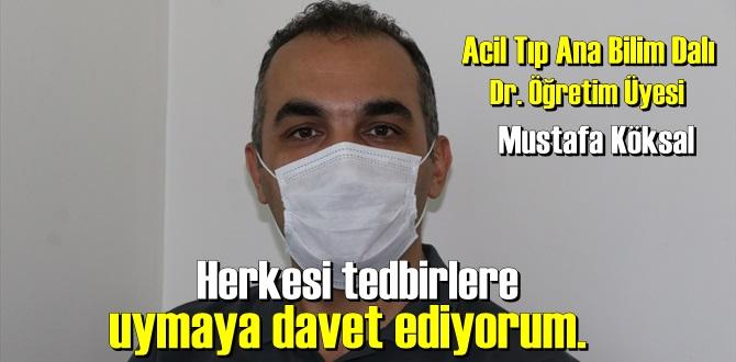Öğretim Üyesi Mustafa Köksal