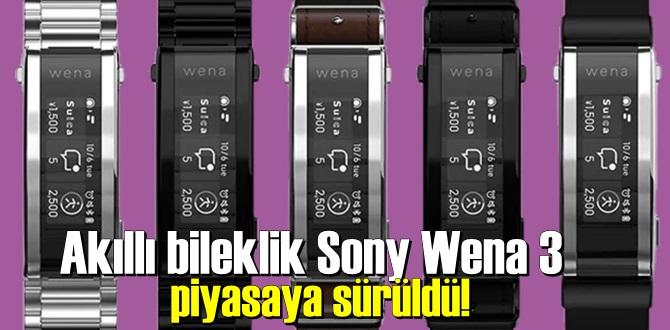Sony Wena 3 özellikleri