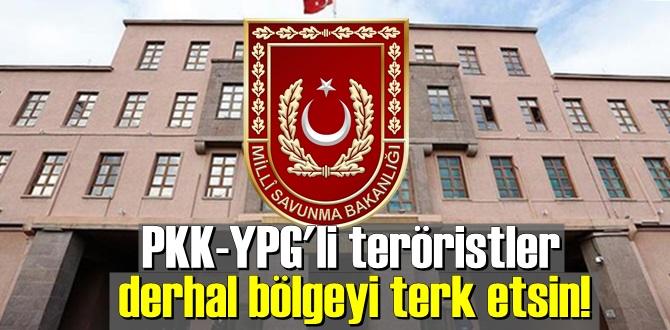 PKK-YPG'li teröristler
