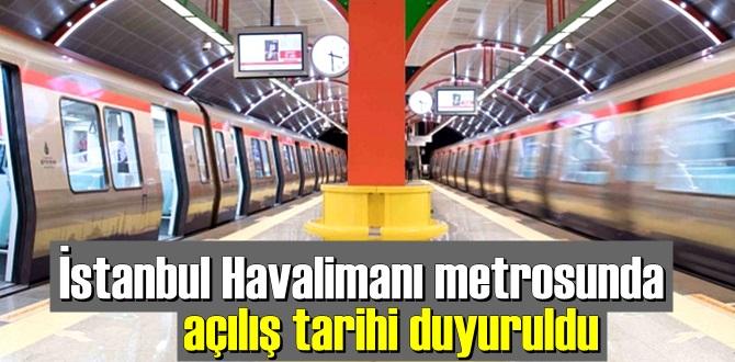 İstanbul Havalimanı metrosu