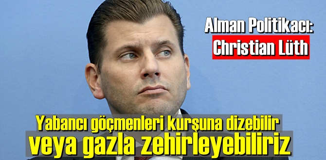 Alman AfD Partisi Sözcüsü Christian Lüth