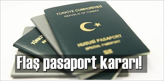 hususi damgalı pasaport süresi değişti!