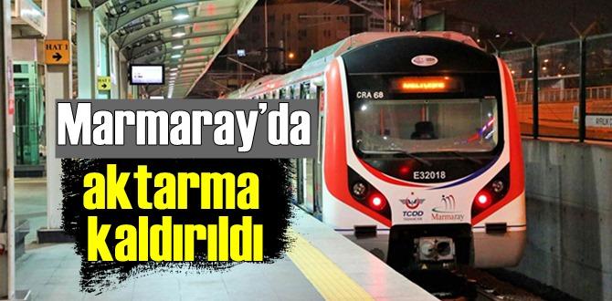TCDD Dava açmıştı, Marmaray'da 9 aydır uygulanan aktarma indirimi Kaldırıldı!