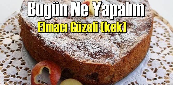 Kek Elmacı Güzeli Tarifi Yapılışı