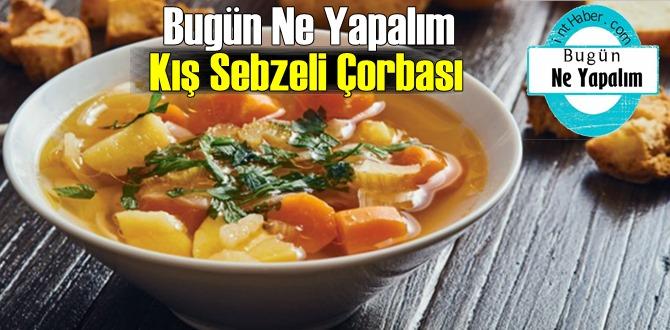 Bugün Ne Yapalım – Kış Sebzeli Çorbası