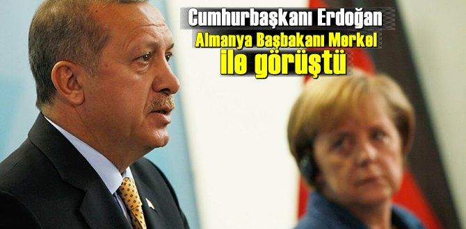 Cumhurbaşkanı Recep Tayyip Erdoğan, Merkel ile video konferans görüşmesi yaptı
