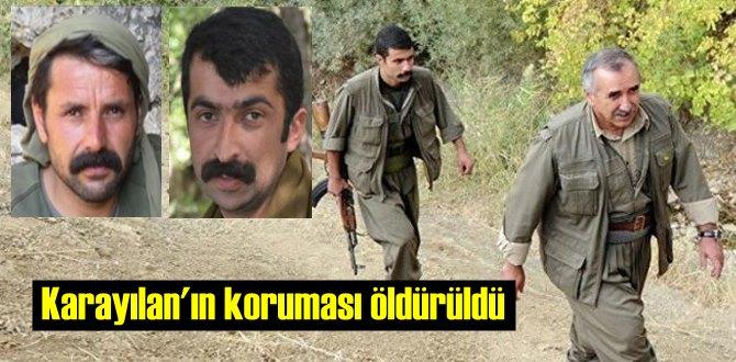 PKK'ya darbe üstüne darbe! Kırmızı kategoride aranan Karayılan'ın eski koruması öldürüldü