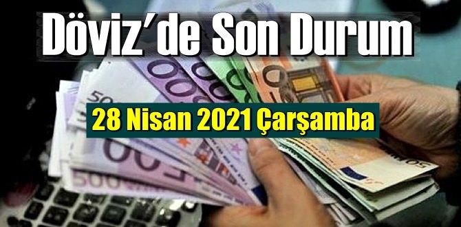 28 Nisan 2021 Çarşamba Ekonomi'de Döviz piyasası