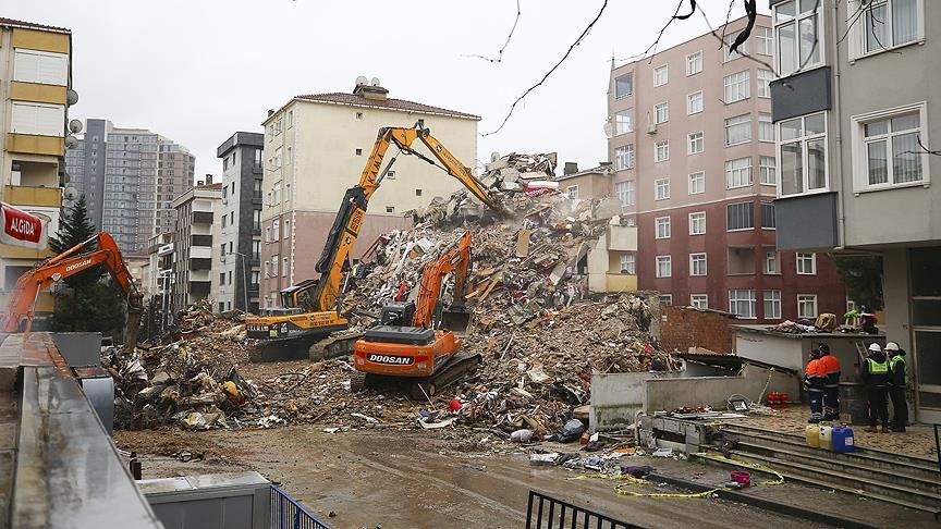 Binaların yıkımı