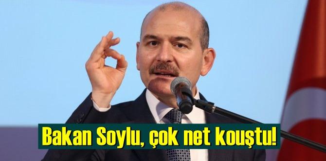 Bakan Soylu, çok net konuştu! bu millet bizden hesap sorsun!