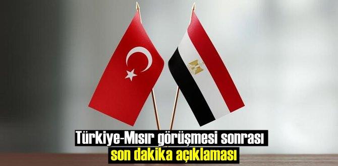 Son Türkiye-Mısır görüşmesi samimi havada gerçekleşti