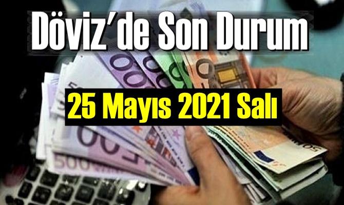 25 Mayıs 2021 Salı Ekonomi'de Döviz piyasası