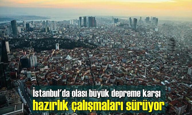 İstanbul'da olası büyük depreme karşı hazırlık çalışmaları sürüyor.