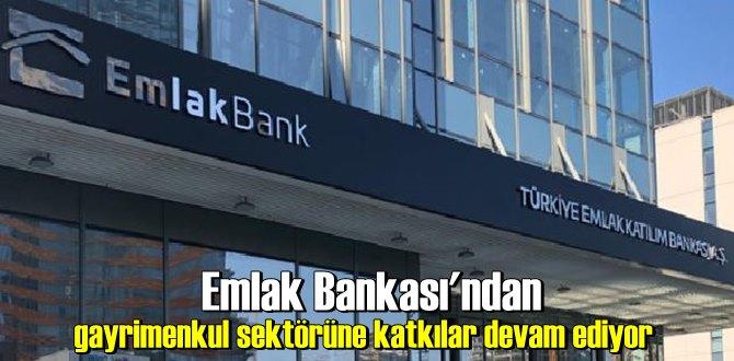 Emlak Bankası'ndan gayrimenkul sektörüne katkılar devam ediyor
