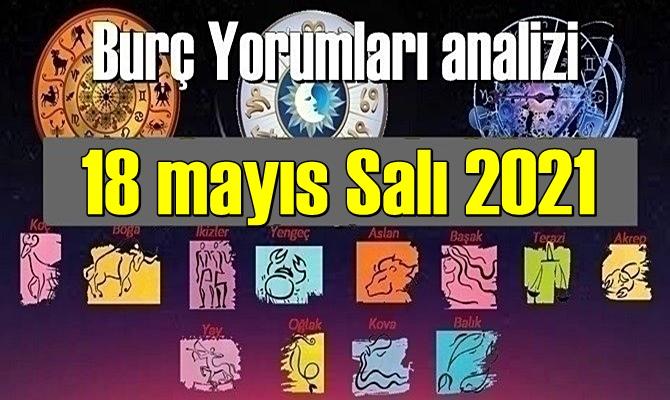 18 mayıs Salı 2021