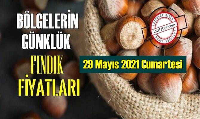 29 Mayıs 2021 Cumartesi Türkiye günlük Fındık fiyatları