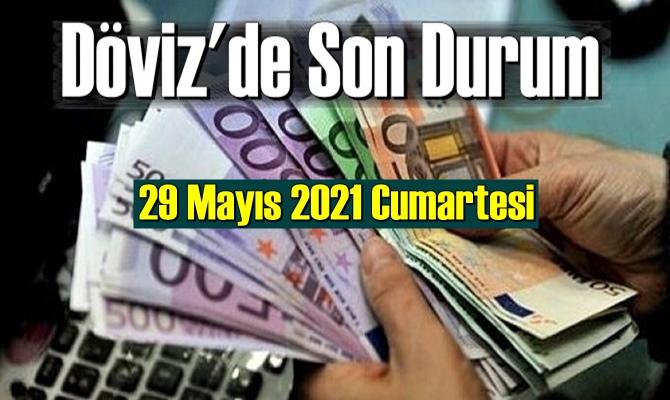 29 Mayıs 2021 Cumartesi Ekonomi'de Döviz piyasası