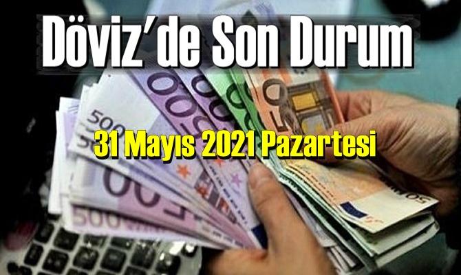 31 Mayıs 2021 Pazartesi Ekonomi'de Döviz piyasası