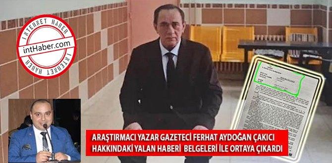 Araştırmacı Gazeteci Ferhat Aydoğan
