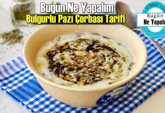 Bulgurlu Pazı Çorbası Tarifi