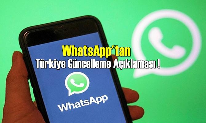 Türkiye Güncelleme Açıklaması !