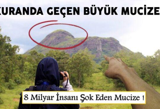 Dağlardaki Büyük Mucizeyi Görün ! 8 Milyar İnsanı Şok Eden Mucizevi olay !