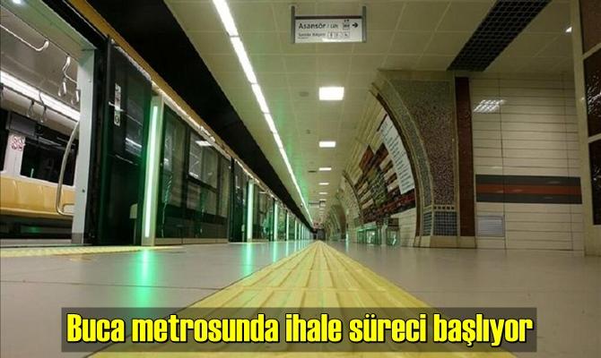 İzmir gayrimenkul piyasasını yakından ilgilendiren Buca metrosunda çalışmalar başlıyor