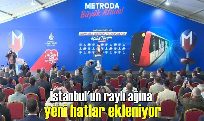 İstanbul Avrupa Yakasında yeni bir metro hattı daha İstanbulluların hizmetine sunuldu.