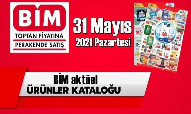 31 Mayıs 2021 Pazartesi BİM aktüel ürünler kataloğu açıklandı